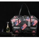 3165A Black Real Leather Shoulder Bag Messenger Bag Handbag