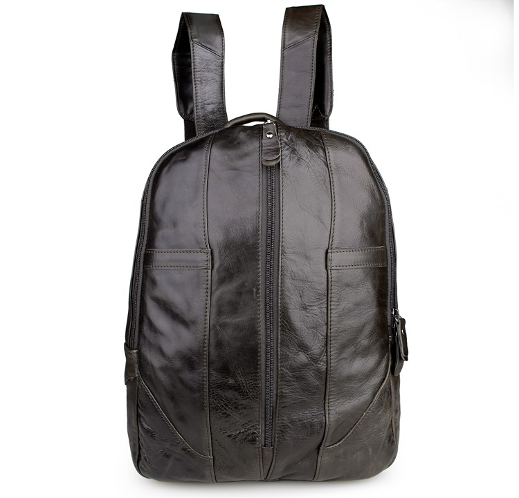 7244J Genuine Leather Professional Outdoor Sport Leather Backpack