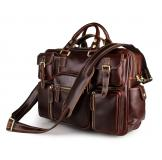 7028X-1 JMD Brand Rare Cow Leather Men's Briefcase Laptop Bag