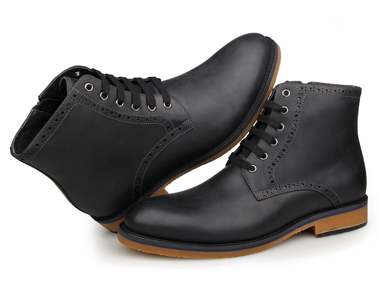 1001A8 New Arrival Cow Leather America 8 Size Men Boots