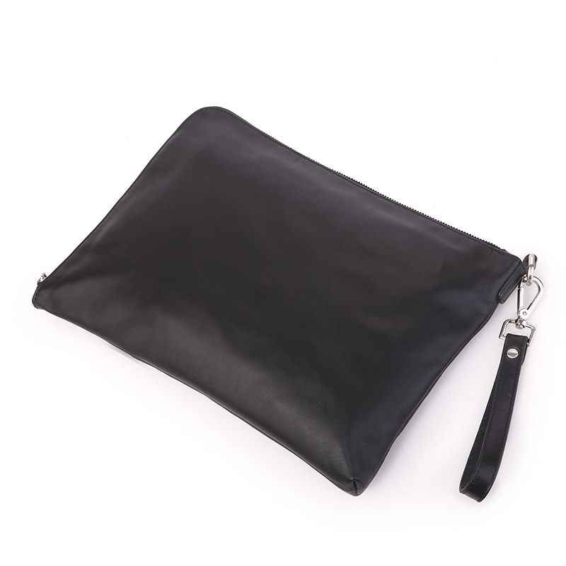 7341A Genuine Cow Leather Men's Sling Bag Clutch Bag