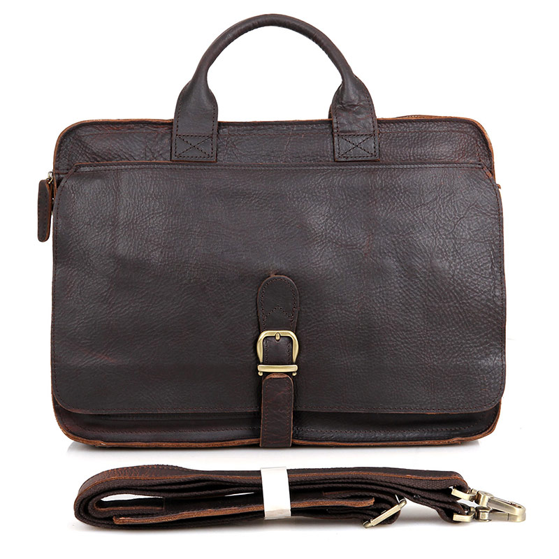 6020R New Arrival Cow Leather Briefcase Handbag for Men