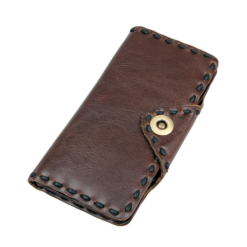 8136-1C New Products Natural Cow Leather Men Money Holder