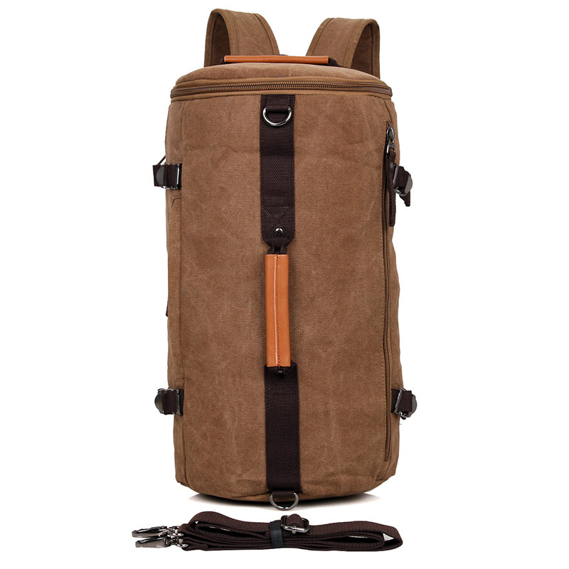 9036C Coffee Multifunction Mountain Backpack for Trip