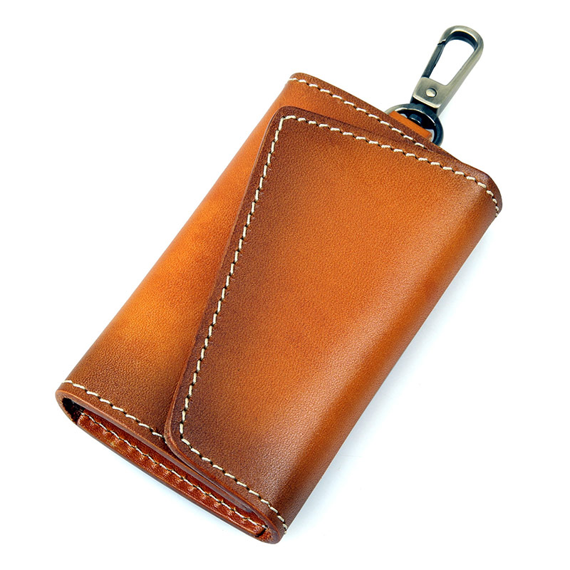 8132B-1 Brown JMD Brand New Products Genuine Leather Key Bags Men