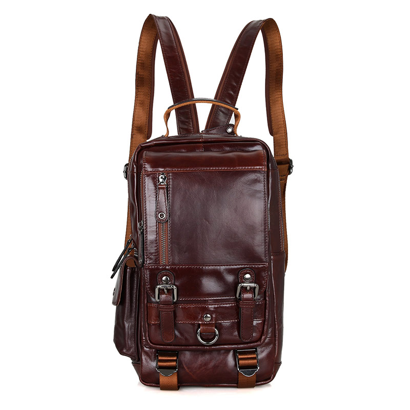 2002C Fashion Classic Natural Leather Backpack for Girls Manufacturer