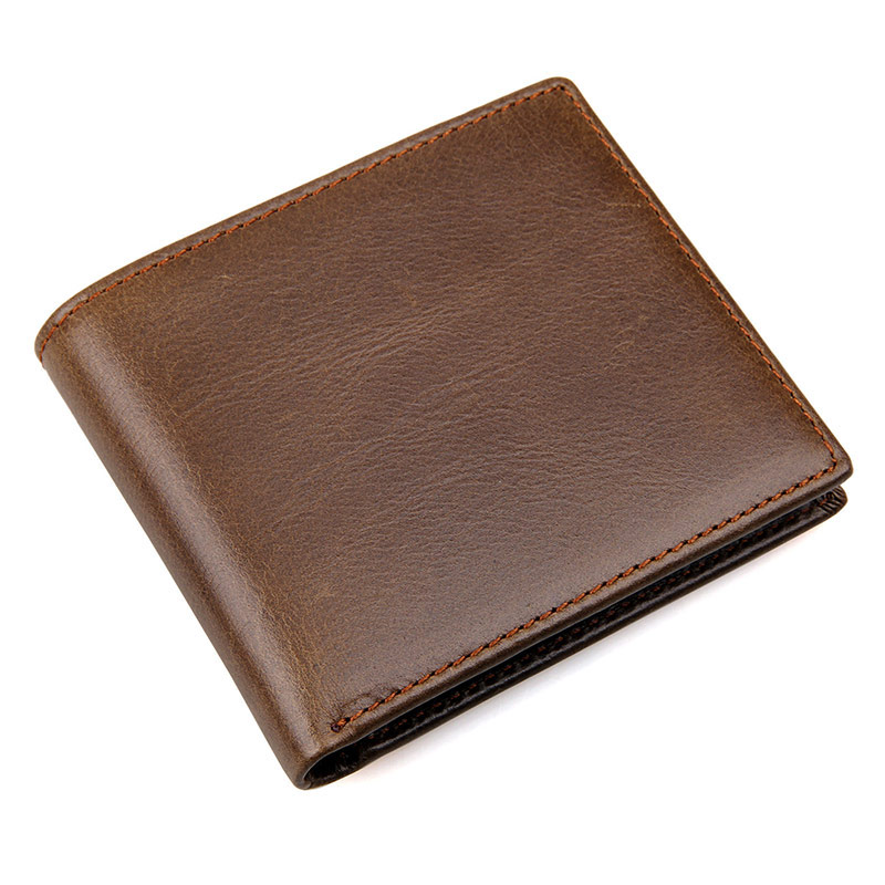 8029BS Cow Leather Wallet for Cash Credit Cards