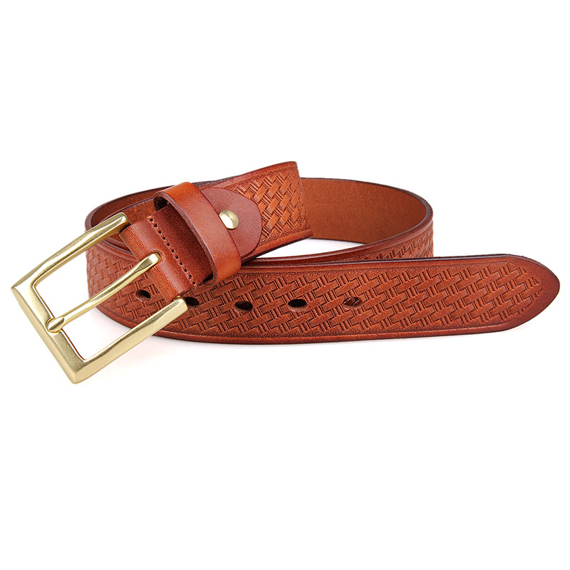 B010B-1 Fashion Stylish Italian genuine Leather Lady Belt with Pin Buckle