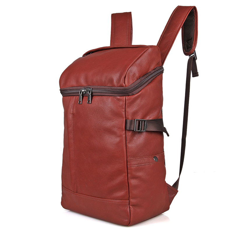 2004X Newest Leather Products Fashionable School Backpack for Young