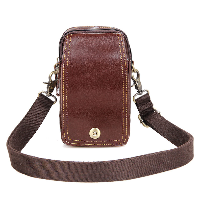New Products 100% Genuine Leather Funny Purse for Men