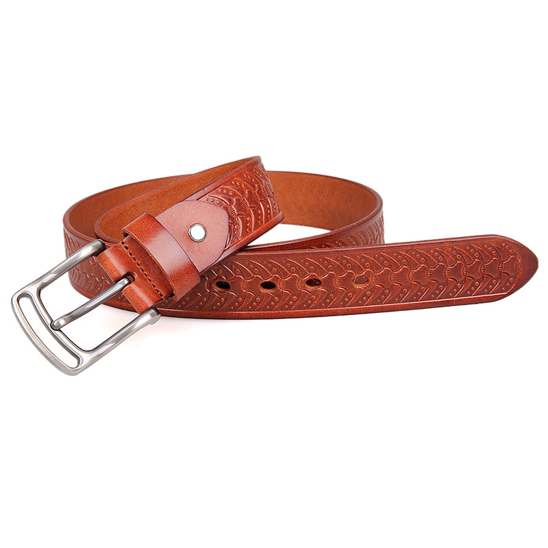 B015B-2 Reversible Italian Leather Belt for Business Man