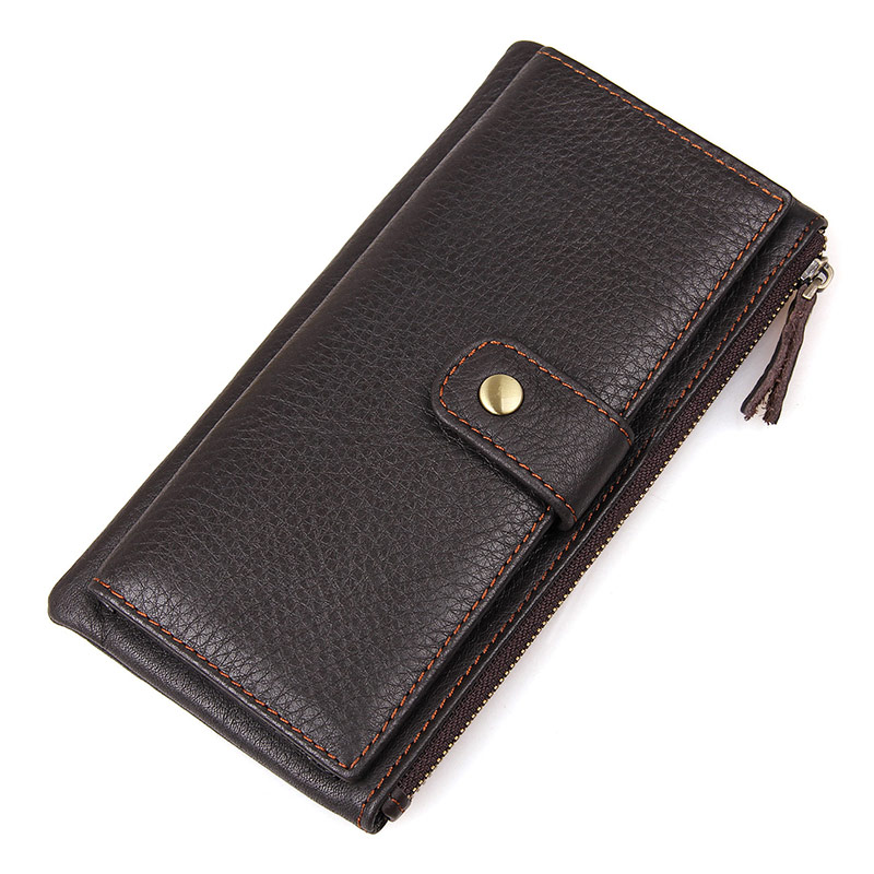 8141C Hot Selling Cow Leather Unique Design Men Wallet