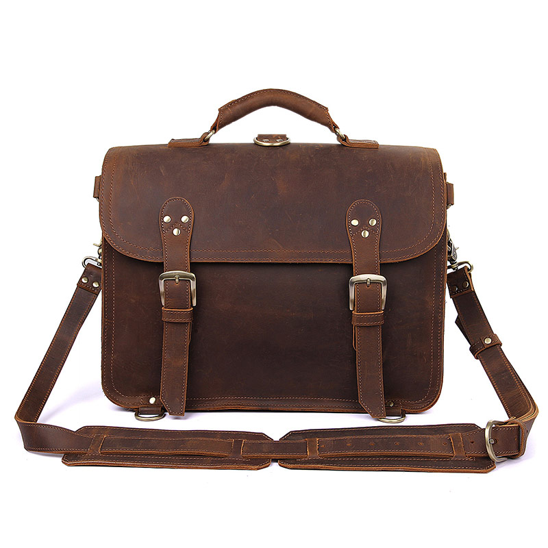 7370R Big Tote Bag Crazy Horse Cow Boy Style Travel Bags For Men's Big Size Travelling Bag 2013 Hot selling