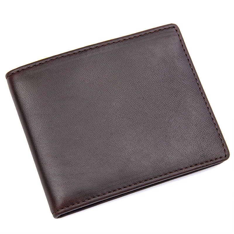 R-8172-3Q Men Fashion Brown Wallet Purse Card holder Money Holder