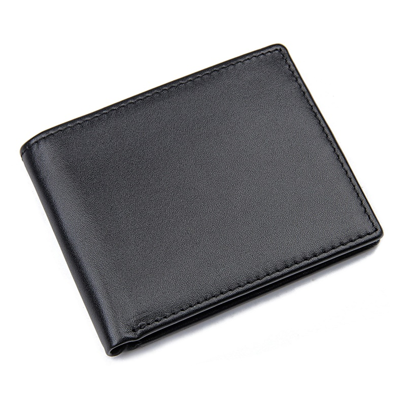 R-8449A Genuine Leather Full Grain Leather RFID Wallet